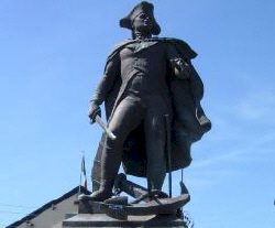 Commodore John Barry, father of the American Navy